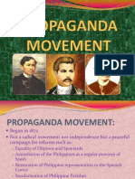 Propaganda, Revolution, Independence