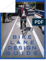 Chicagos Bike Lane Design Guide (2002)