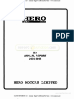 Hero Motors Ltd 2006