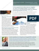 HOPE worldwide Report - Issue 19