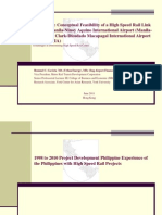 2011 May CASE STUDY NAIA to DMIA High Speed Rail Link Final HK Paper