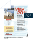 Top Five Things to Know Before Calling the Field Machining Company - May 2011 Power Engineering Magazine OCR Version