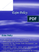 4975093 Ch 03 Exim Policy of India