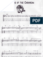 Pirates of the Caribbean Guitar Tabs