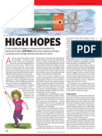 high altitude wind power -article by nature news