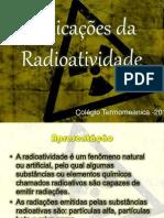 Aplicações para a Radioatividade