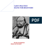 ZAZEN (Zen) Practice a Guideline for Beginners