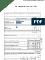 Result a Dos - Evaluacion de BG 4B (2010-2011