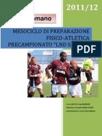 Mesociclo Di Preparazione to _lnd Serie d 2011-2012