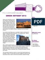 PCC Travel   Greek Odyssey 2012