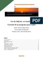Manual Gamba2 Programa Paso a Paso de SQLite 2