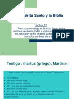 El Espiritu Santo y La Biblia