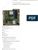 Caractéristiques de la carte mère M2N78-LA (Violet6) Ordinateur de bureau HP Pavilion p6374fr - Assistance Technique HP (France - Français)