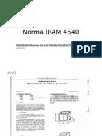 Norm Iram 4540,Perspectivas
