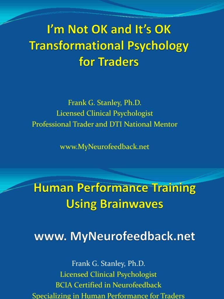 Trading Psychology Pdf Neurofeedback Unconscious Mind