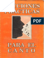 Lecciones Practicas Para Canto[1]