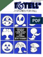 CUT & TELL Scissor Stories for Fall(Figuras Con Platos Desechables
