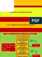 Diagrama de Flujo Auditoria Administrativa