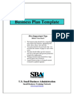 US-SBA Bp Template