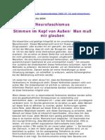 Strahlenfolter - Frank Possekel - Neurofaschismus - Stimmen Im Kopf