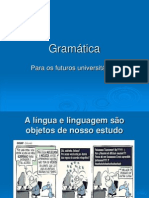 Gramática cursinho 2011