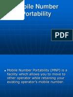 Mobile Portabilityi Ppt