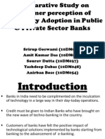 Comparative Study on Customer Perception of Technology Adoption