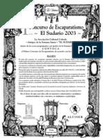 El Sudario 2003 I Concurso Escaparatismo