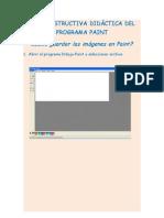 Como Guardar Dibujo Paint