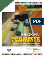 Broken Promises Report