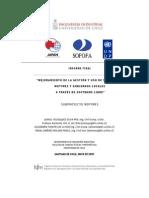 Uso de TIC's de las Mipymes y gobiernos locales a través de Software Libre