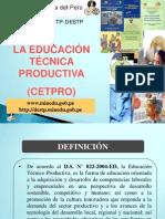 Educacion Tecnica Productiva_cetpro