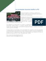 Bombeiros Protestam Durante Desfile No RJ