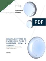 Factores de La Produccion Economia