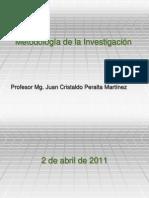 Tipos de investigación y Variables