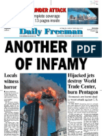 Sept 2001 Front Pages