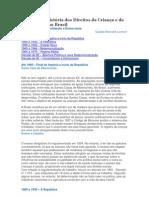 Uma Breve História dos Direitos da Criança e do Adolescente no Brasil
