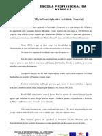 REFLEXÃO DA UFCD, SOFTWARE APLICADO Á ACTIVIDADE COMERCIAL