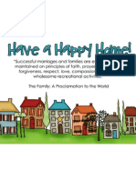 Happy Home Pass-along Card