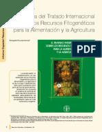 Importancia del Tratado Internacional sobre los recursos fitogenéticos para la alimentación y la agricultura