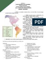 GUIA No. 2 PARA 9º - LITERATURA PRECOLOMBINA