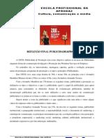 REFLEXÃO PUBLICIDADE&PROMOÇÃO