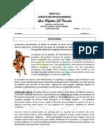 Temtica 1- Noveno- Literatura Precolombina