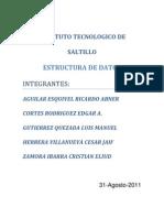 Estructura de Datos - Escrito Unidad 1