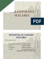 Pengenalan Parasit Malaria