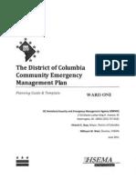 Community Emergency Management Plan Ward 1