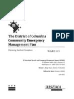 Community Emergency Management Plan Ward 6