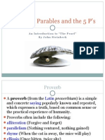 Proverbs, Parables and the 5 P's_The Pearl 10.7