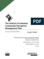 Community Emergency Management Plan Ward 3A