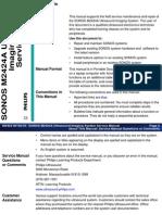 Sonos 5500 Service Manual